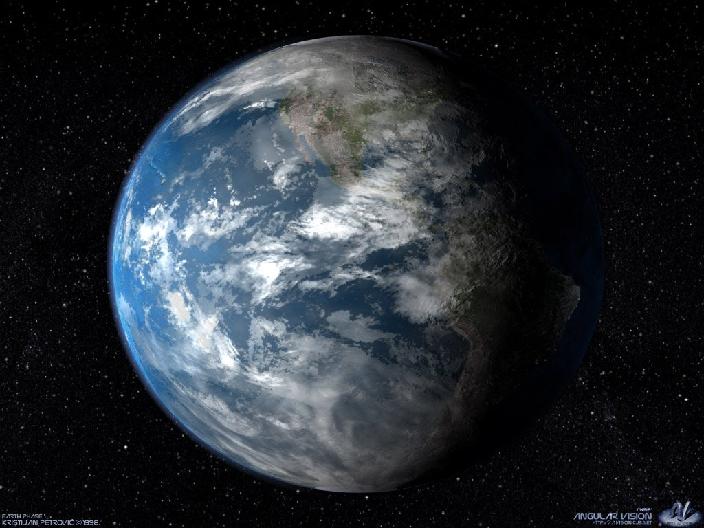 planet, earth, view from space, planet wallpaper