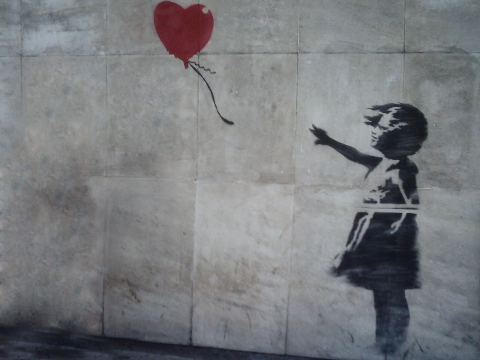 Girl with Balloon Banksy
