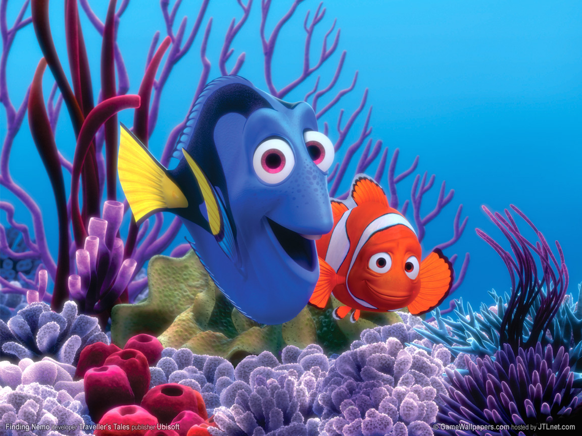Finding Nemo Cartoon Disney