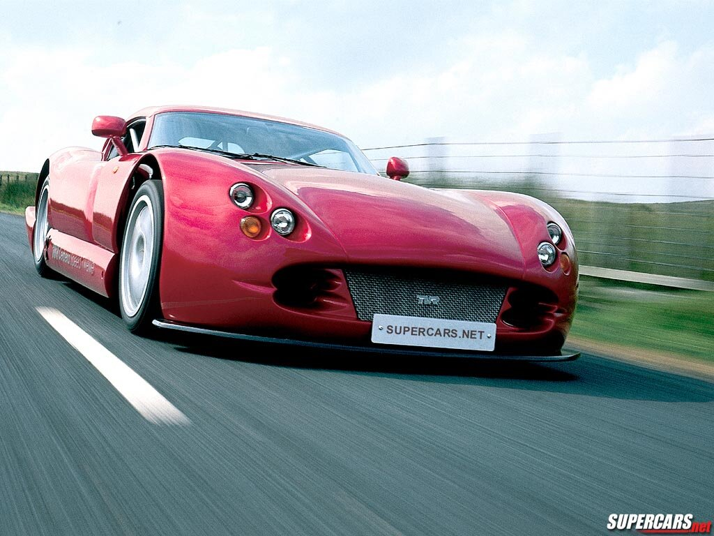 The Tvr Tuscan Challenge